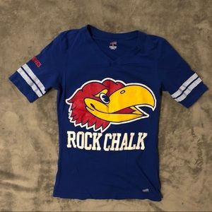 Soffe Tops - Kansas KU Jayhawks T-Shirt